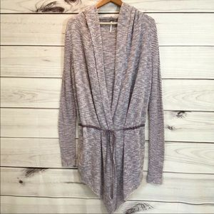 FREE PEOPLE waterfall cotton cardigan sweater